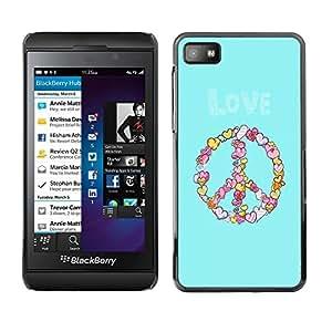 Dragon Case - FOR Blackberry Z10 - Delays are dangerous - Caja protectora de pl??stico duro de la cubierta Dise?¡Ào Slim Fit