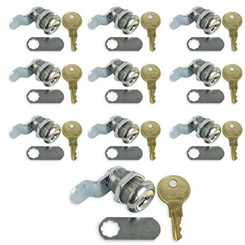 Compartment Lock - Leisure Coachworks 10 Pack 7/8