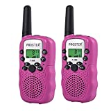 Proster Walkie Talkies New Version LCD 22 Channels Wireless Walky Talky Two Way Radios Long Range for Supermarkets Shopping Centres Festivals