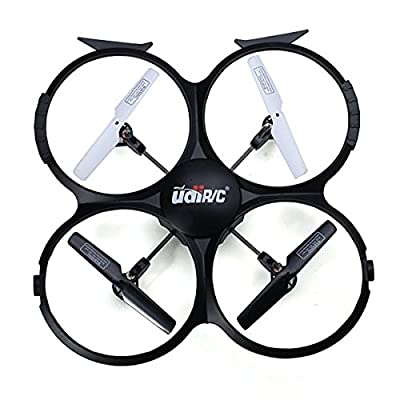 UDI U818A-HD 2.4GHz 4 CH 6 Axis Headless RC Quadcopter w/ HD Camera, Extra Battery: Toys & Games