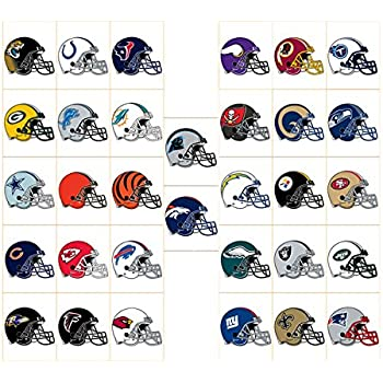 Amazon.com: NFL FOOTBALL SET of 32 BUILDABLE TEAM FIGURES
