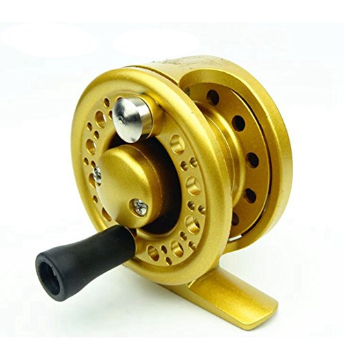 Colorado Durable Straight Line Ice Reel Strength Light Weight Bait feeder Reels for Inshore & Saltwater Bait Fishing