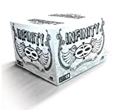 Valken Infinity Paintballs, White/White, .68 Caliber, 2,000 paintballs