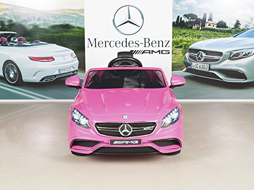 Mercedes Benz S63 Kids 12v Electric Power Wheels Rc Ride