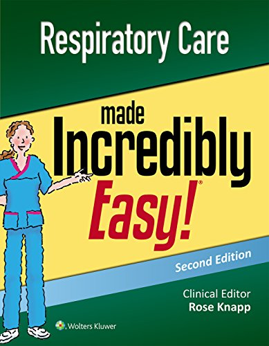 (Respiratory Care Made Incredibly Easy (Incredibly Easy! Series®))