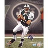 Steiner Sports NFL New York Jets Kellen Clemens Stepping Up in the Pocket Vertical 8x10 Photo