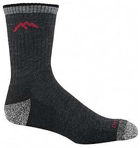 Hiker Micro Crew Sock Cushion, Black, XX-Large (15-17)