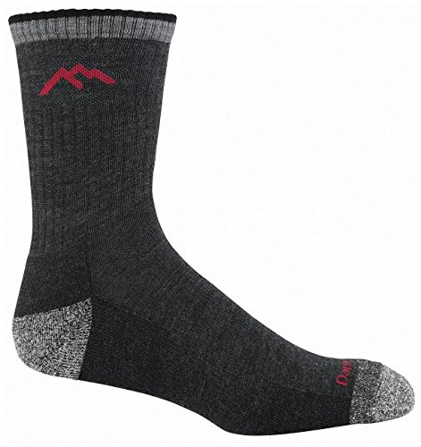 16 Socks (Hiker Micro Crew Sock Cushion, Black, XX-Large (15-17))