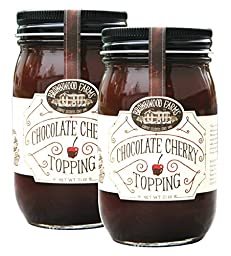Chocolate Cherry Topping - 2 PACK - Shipping Included