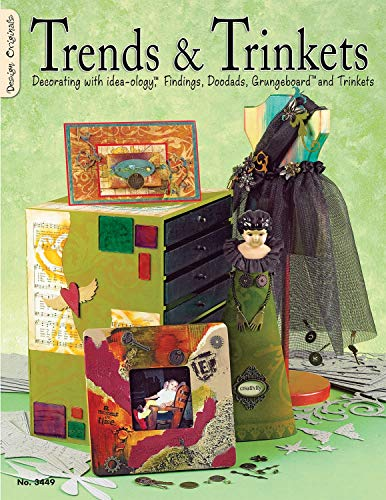 Trends and Trinkets: Decorating with Idea-Ology  Findings, Doodads, Grungeboard  and Trinkets