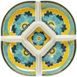 Certified International Mexican Tile Chip and Dip Bowl, 15-Inch