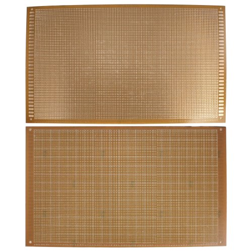 2 Pcs Prototyping Universal Copper Rectangle PCB Print Circuit Board 18cm x 30cm
