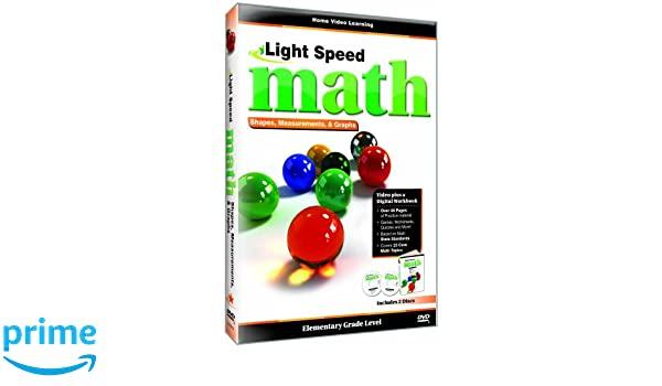 Amazon.com: Light Speed Math: Shapes, Measurements & Graphs ...