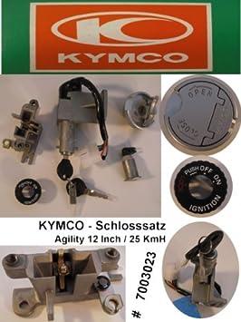 Candado para patinete Kymco Agility 50: Amazon.es: Coche y moto