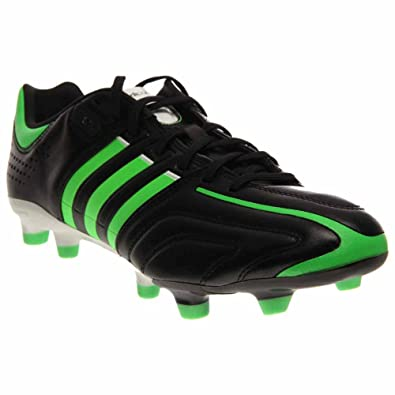 buy popular 4ba6d 0d6fa adidas Adipure 11Pro TRX FG Cleat - Mens Soccer 6.5 BlackGreenWhite