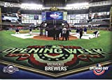 Baseball MLB 2018 Topps Opening Day Opening Day Stadium #ODB-MB Milwaukee Brewers #ODB-MB NM Near Mint