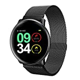 Smart Watch,UMIDIGI Uwatch2 Smartwatch Compatible with iOS, Android, Waterproof IP67, Fitness Activity Tracker Heart Rate, Calorie Counter Pedometer Watch for Men, Women and Kids (Black) Reviews