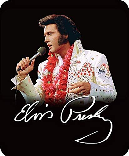 Regal Comfort Elvis Presley King of Rock and Roll Aloha from Hawaii Plush Blanket Queen Size ()