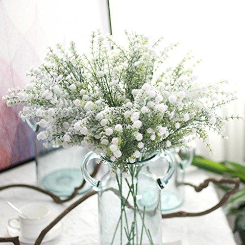 LtrottedJ Artificial Gypsophila Floral Flower Fake ,Silk Wedding Party Bouquet Home Decor