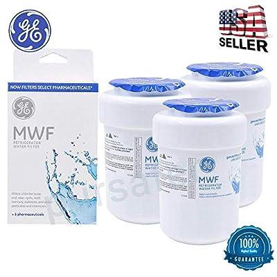 3PACK Genuine GE MWF MWFP 46-9991 GWF HWF WF28 Smart Water Fridge Water Filter New