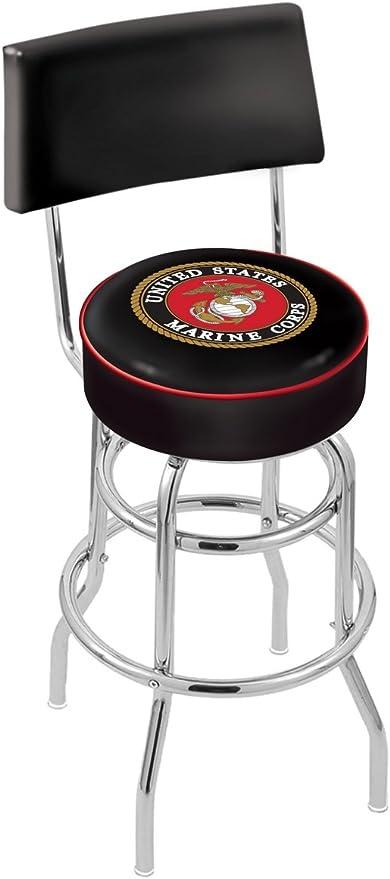 US Military United States Marine Corps 30 Bar Stool