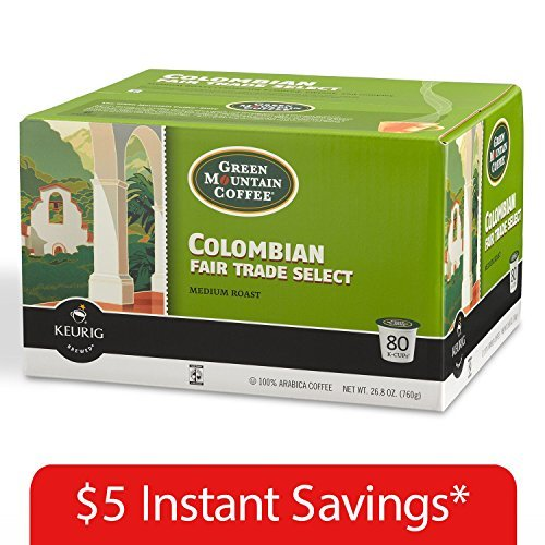 - Green Mountain Coffee Colombian Fair Trade Select K-Cup Packs - 80 ct.
