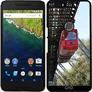 Funda para Google Nexus 6P (Huawei) - Wuppertal Ferroviaria Suspensión by Christine aka stine1