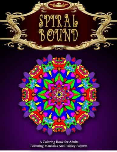 SPIRAL BOUND MANDALA COLORING BOOK - Vol.3: women coloring books for adults (Volume 3)