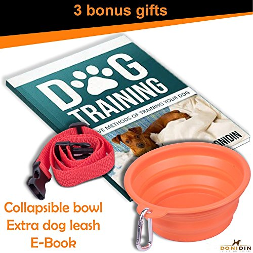 No-Bark-Dog-Collar-Safely-Stops-Incessant-Barking-7-Sensitivity-Levels-for-Small-Medium-Large-Dogs-18-120-lbs-Uses-Humane-Ultrasonic-Static-Stimulation-With-Extra-Bonuses-by-Donidin