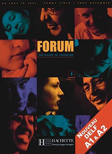 Forum1: Forum, Bd.1, Lehrbuch, m. Lernerheft
