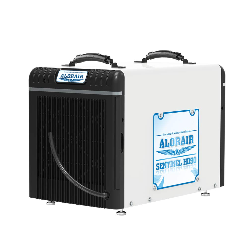AlorAir Basement/Crawl Space Dehumidifiers 198 PPD (Saturation), 90 PPD (AHAM), 5 Years Warranty, HGV Defrosting System, cETL, up to 2,600 Sq. Ft, Remote Monitoring