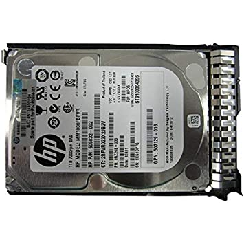 "HP NEW FACTORY SEALED 652749-B21 653954-001 1TB 7.2K SFF 2.5/"" HDD MDL SC"