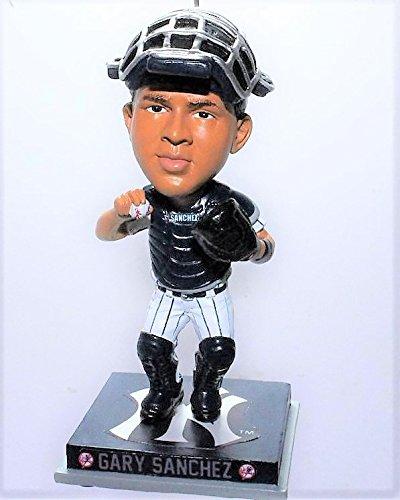- FOCO MLB New York Yankees Gary Sancheznew Bobble Ornament, Blue, 4