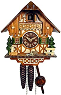cuckoo clock little black forest house 1026001c
