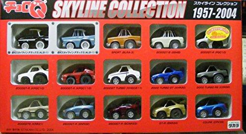 チョロQ スカイラインコレクション 1957-2004(15台セット)