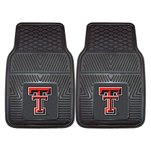 Texas Tech University Heavy Duty Vinyl Car Floor Mats (Set of 2)