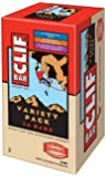 Clif Bar Energy Bar, Variety Pack, Chocolate Chip, Crunchy Peanut Butter, Chocolate Chip Peanut Crunch, 2.4-Ounce Bars…