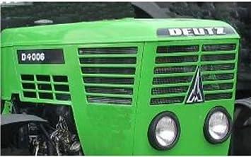 Deutz pegatinas guardabarros o camarote para d6006 20x3cm sticker Label