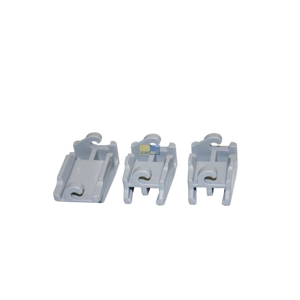 Bosch Siemens 418674 Original Set Bearing CLAMP BRACKET Klappstachelreihe Top Rack Dishwasher Dishwasher Dishwasher Suitable Also Source 02928612 BSH-Gruppe