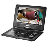 Docooler 10. 1 Inches Swivel Screen DVD/CD/MP3 Player Portatil 16:9 TFT Screen Pixe 1024 600 Support SD / USB / AV for Gamepad TV US Plug GKNUO GKN-101