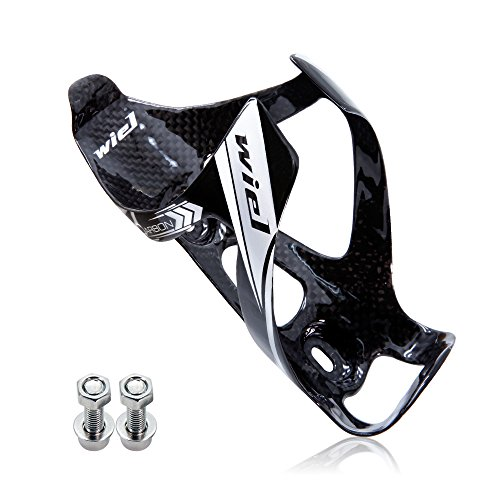 Wiel Full Carbon Fiber Bicycle Bike Light Drink Water Bottle Cage Holder - Carbon Fiber Bottle Cage