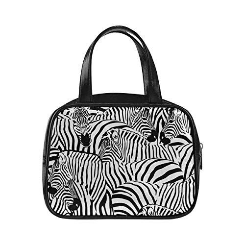 - InterestPrint Top Handle Satchel Shoulder Bags Zebras Animal Striped Purses and Handbags for Women