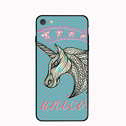 (iPhone6 Case, Unicorn Icon Slim-Fit Anti-Scratch Shock Proof Anti-Finger Print Case Compatible for iPhone6)