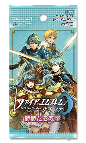 TCG Fire Emblem 0 (Thigh, Fine) Booster Pack ''赫赫 Designed, Double Neck'' Box (1BOX16 packs) by Nintendo