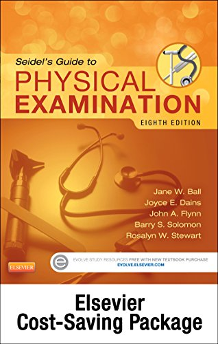 Seidel's Guide to Physical Examination - Text and Mosby's Physical Examination Video Series, Videos 1-18 (Access Code) Package, 8e by Mosby