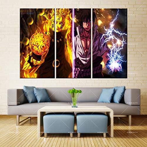 PSpXU Sin Marco-Belleza Lienzo Pintura Pared Comic Warrior Castle Spray impresión Tinta Impermeable decoración del hogar