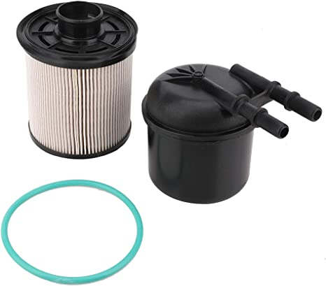 Amazon.com: 6.7 Powerstroke Fuel Filter - Compatible with 2011-2016 Ford F-250  F-350 F-450 F-550 Super Duty 6.7L V8 Diesel - Replace FD-4615 BC3Z-9N184-B  - 5 Micron Fuel Filter Water Separator Kit: Automotive | Ford F 350 6 7 Fuel Filter Where Change |  | Amazon.com