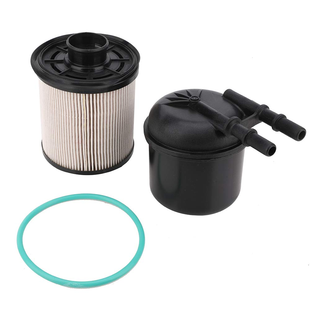 Fit for 2011-2016 Ford F-250 F-350 F-450 F-550 Super Duty 6.7L V8 Diesel 5 Micron 6.7 Powerstroke Fuel Filter Water Separator Kit Replace # FD-4615 BC3Z-9N184-B