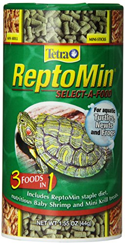 (Tetra 29253 ReptoMin Select-a-Food, 1.55-Ounce, 250-ml)
