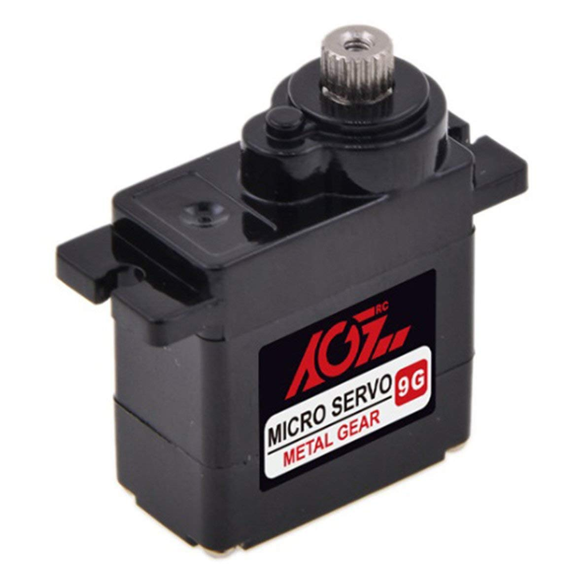 Noradtjcca Professional B11DLS Mini Kontinuierliche Drehung 360 Grad Leistung Standard Kunststoff Servo Fit F/ür Roboter